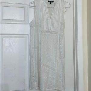 Ralph Lauren white eyelet dress
